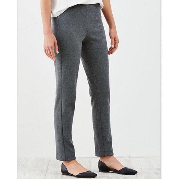 3c21f3a8630ab9 J. Jill Pants | J Jill Ponte Knit Slim Leg Pull On | Poshmark